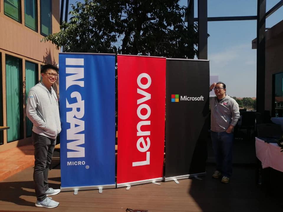 Microsoft x Lenovo